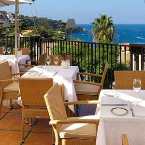 Grand Hotel La Favorita - Italy Luxury Holidays - Dine with a view