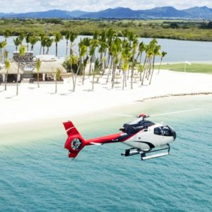 Helicopter Ride One&Only Le Saint Geran Mauritius Honeymoons