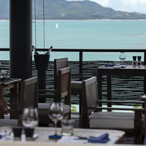 Thailand honeymoon Packages Six Senses Samui Dining On The Hill