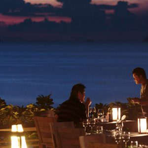 Thailand honeymoon Packages Six Senses Samui Dining 2