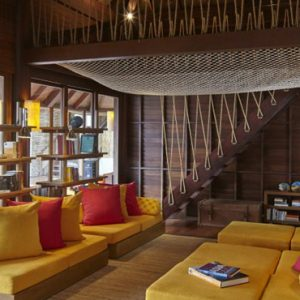 Thailand honeymoon Packages Six Senses Samui Library