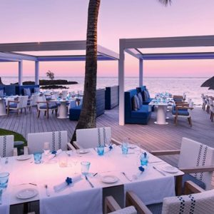 Mauritius Honeymoon Packages Constance Belle Mare Plage Indigo Resturant
