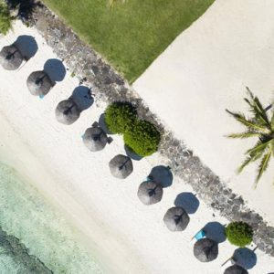 Mauritius Honeymoon Packages Solana Beach Mauritius Beach Aerial View