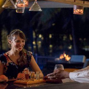 Mauritius Honeymoon Packages Solana Beach Mauritius Couple At Bar