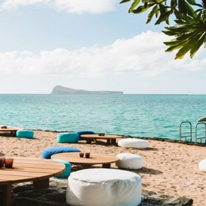 Paradise Cove Boutique Hotel - Luxury Mauritius Honeymoon Package - beach view