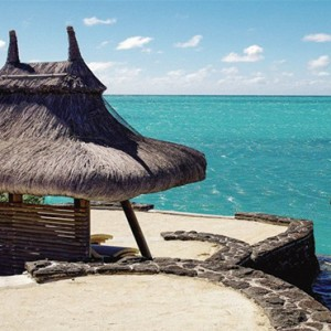 Paradise Cove Boutique Hotel - Luxury Mauritius Honeymoon Package - ocean view