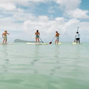 Paradise Cove Boutique Hotel - Luxury Mauritius Honeymoon Package - paddling