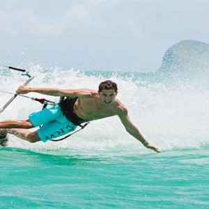 Paradise Cove Boutique Hotel - Luxury Mauritius Honeymoon Package - surfing