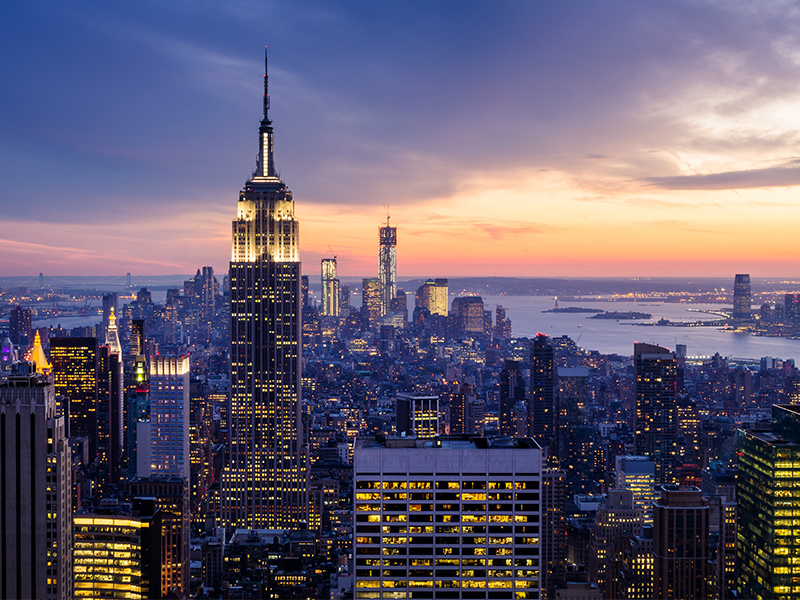 Proposal On Empire State Building New York Romantic Locations To Propose