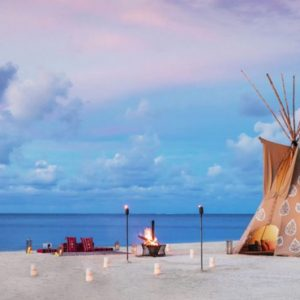Teepee On The Beach One&Only Le Saint Geran Mauritius Honeymoons