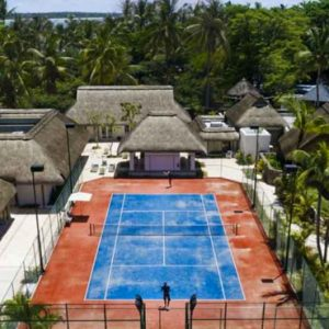 Tennis Courts One&Only Le Saint Geran Mauritius Honeymoons