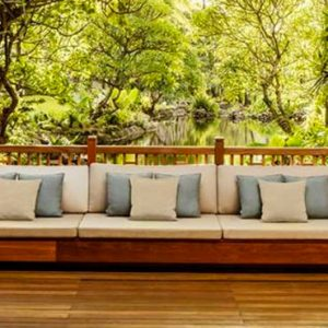 Terrace One&Only Le Saint Geran Mauritius Honeymoons