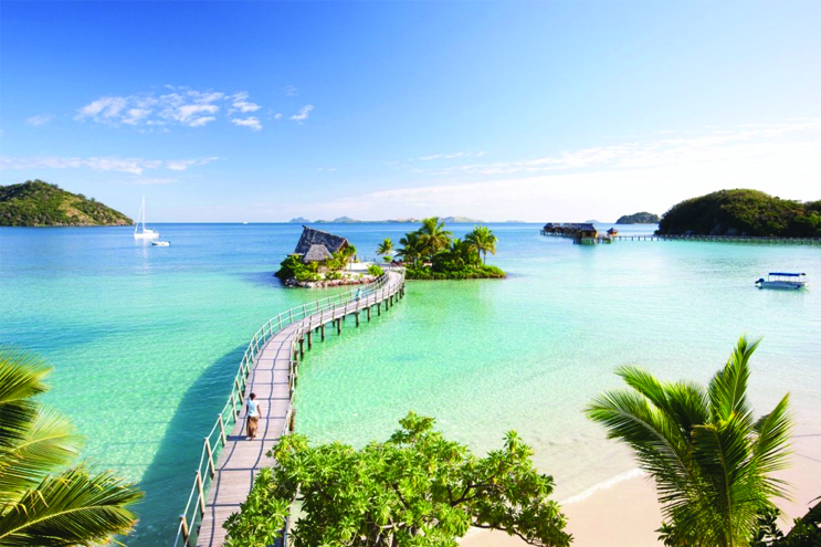 The most romantic beach locations - fiji