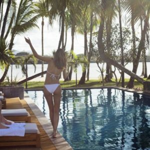 Couple One&Only Le Saint Geran Mauritius Honeymoons
