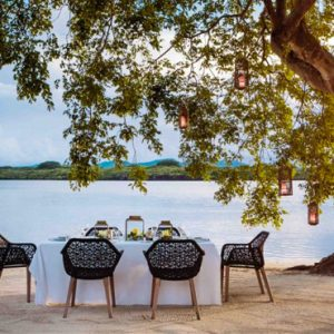 Dining On The Beach One&Only Le Saint Geran Mauritius Honeymoons