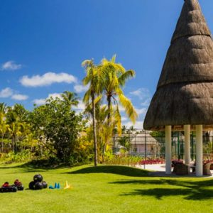 Playing Field One&Only Le Saint Geran Mauritius Honeymoons