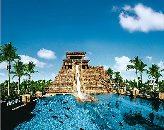 Aquaventure and Lost Chambers Combo Pass - Dubai Excursions - Mayan Temple