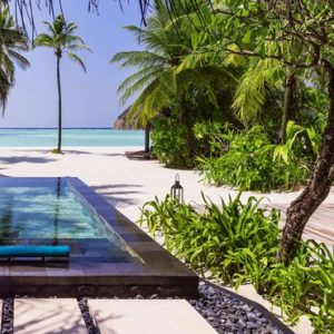 Maldives honeymoon Packages One And Only Reethi Rah Maldives Beach Villa With Pool
