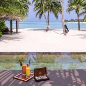 Luxury Maldives honeymoon Packages One And Only Reethi Rah Maldives Grand Beach Villa With Pool
