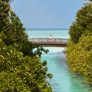 Luxury Maldives honeymoon Packages One And Only Reethi Rah Maldives Bridge
