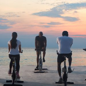 Luxury Maldives honeymoon Packages One And Only Reethi Rah Maldives Gym