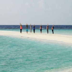 Luxury Maldives honeymoon Packages One And Only Reethi Rah Maldives Gym 2