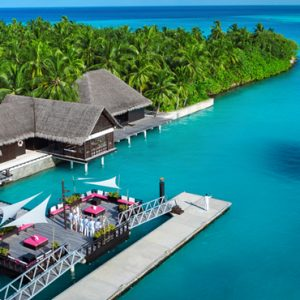 Luxury Maldives honeymoon Packages One And Only Reethi Rah Maldives Jetty