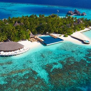 Maldives Honeymoon Packages Huvafen Fushi Maldives Exterior 2