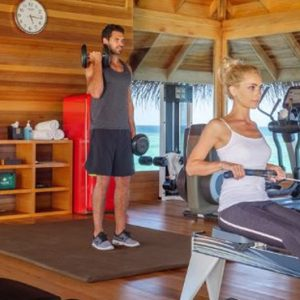Maldives Honeymoon Packages Huvafen Fushi Maldives Gym