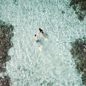 Maldives Honeymoon Packages Huvafen Fushi Maldives Snorkelling