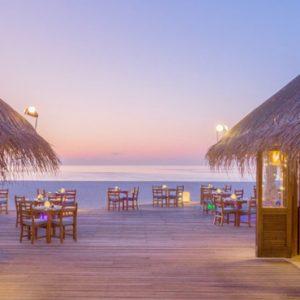 Maldives Honeymoon Packages Meeru Island Resort Buffet Restaurants