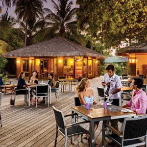 Maldives Honeymoon Packages Meeru Island Resort Hot Rock Restaurant