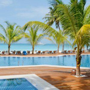 Maldives Honeymoon Packages Meeru Island Resort Pool
