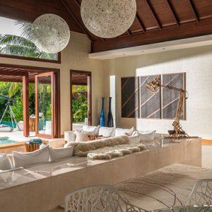 Maldives Honeymoon Packages Niyama Private Islands Maldives Three Bedroom Beach Pool Pavilion 4