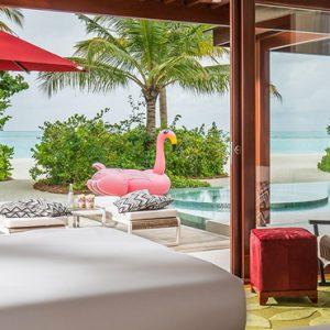 Maldives Honeymoon Packages Niyama Private Islands Maldives Three Bedroom Beach Pool Pavilion 7