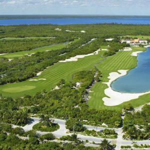Mexico Honeymoon Packages Secrets Playa Mujeres Golf Aerial