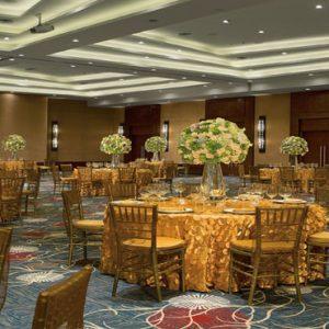 Mexico Honeymoon Packages Secrets Playa Mujeres Indoor Wedding Dinner Setup