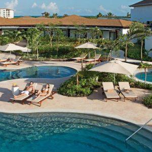 Mexico Honeymoon Packages Secrets Playa Mujeres Spa Pool Circuit