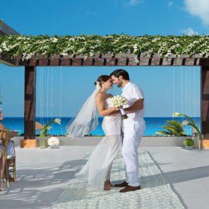 Mexico Honeymoon Packages Secrets Playa Mujeres Wedding Gazebo