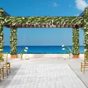 Mexico Honeymoon Packages Secrets Playa Mujeres Wedding Gazebo Setup