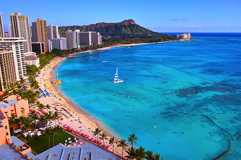 Hawaii Wakiki Beach