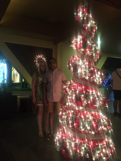 A honeymoon at Centara Ceysands Resort and Spa Sri Lanka - Christmas Tree