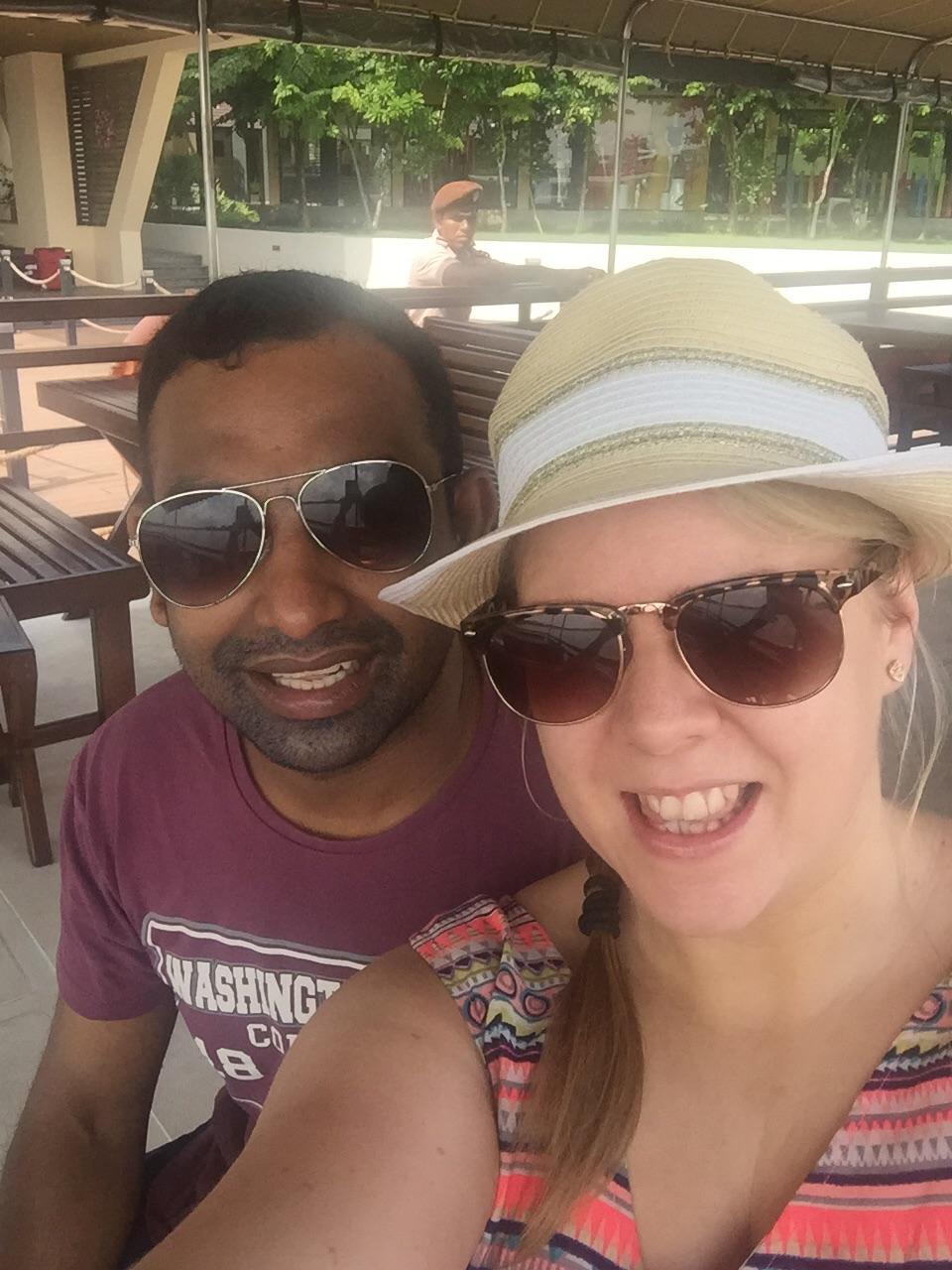 A honeymoon at Centara Ceysands Resort and Spa Sri Lanka - Selfie
