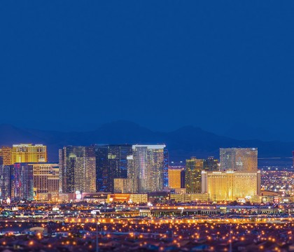 a picture of Las Vegas