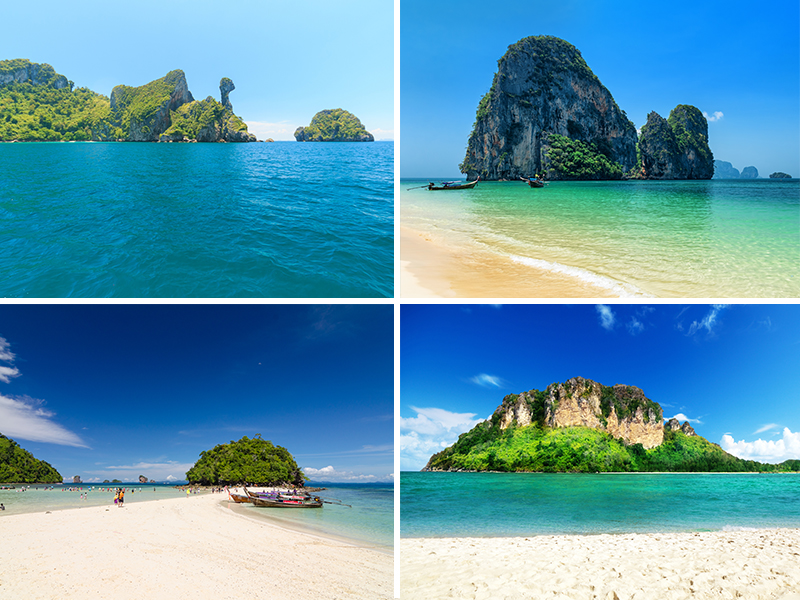 Four Islands by Speedboat - Thailand Excursions - thailand Honeymoons - four islands