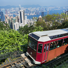 Hong Kong Victoria peak with tram ride tour - hong kong honeymoons - Thumbnail