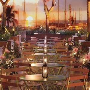 Luxury Holidays Hawaii - The Modern - Dining Sunset