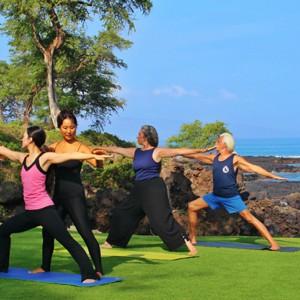 Makena Beach and Golf Resort - Hawaii Honeymoons - Yoga