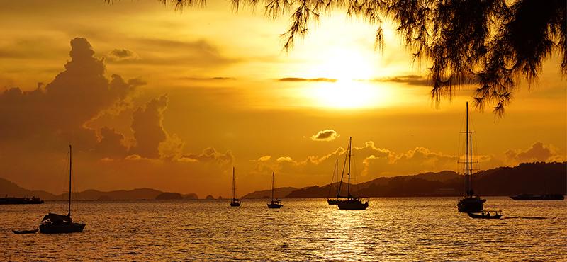 Langkawi Island Sunset Cruise Honeymoon Image