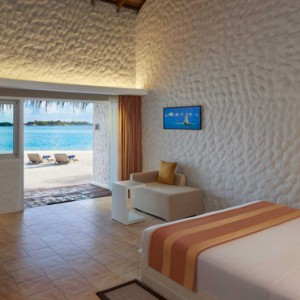 Beach Bungalow - cinnamon dhonveli - luxury maldives honeymoon packages